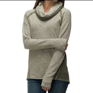 Kuhl Sage Nova green cowl neck sweater poolover